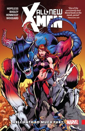 ALL NEW X-MEN INEVITABLE VOLUME 3 HELL HATH SO MUCH FURY GRAPHIC NOVEL