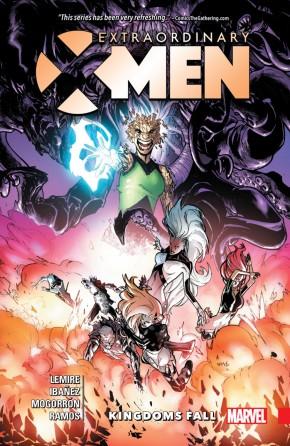 EXTRAORDINARY X-MEN VOLUME 3 KINGDOMS FALL GRAPHIC NOVEL