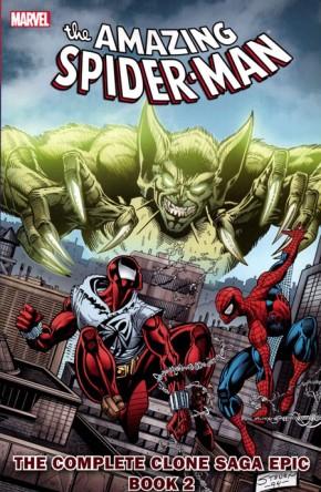 SPIDER-MAN COMPLETE CLONE SAGA EPIC BOOK 2 GRAPHIC NOVEL