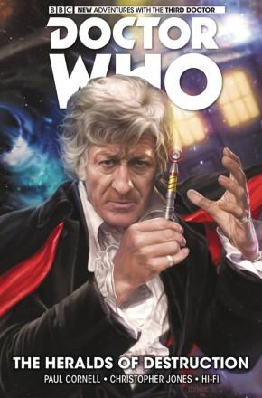 DOCTOR WHO 3RD DOCTOR VOLUME 1 HERALDS OF DESTRUCTION HARDCOVER