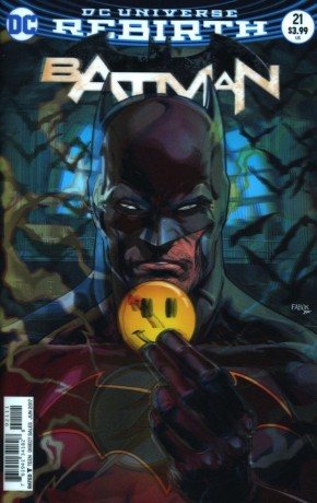 BATMAN #21 (2016 SERIES) US EDITION LENTICULAR VARIANT