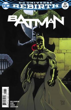 BATMAN #22 (2016 SERIES) TIM SALE VARIANT