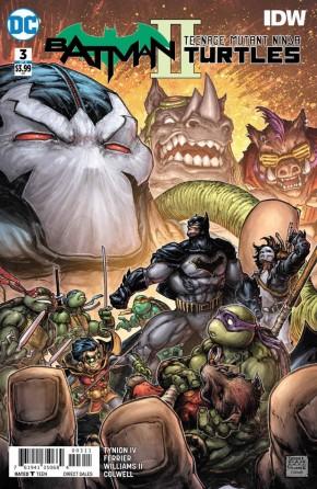 BATMAN TEENAGE MUTANT NINJA TURTLES II #3