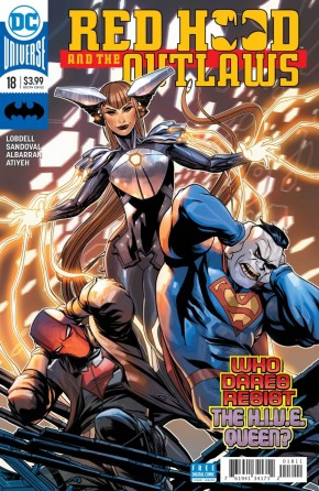 RED HOOD AND THE OUTLAWS #18 (2016 SERIES)