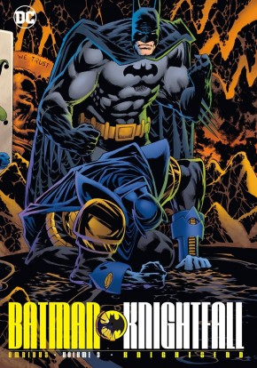 BATMAN KNIGHTFALL OMNIBUS VOLUME 3 KNIGHTSEND HARDCOVER