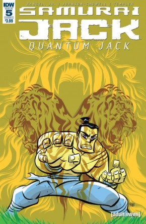 SAMURAI JACK QUANTUM JACK #5
