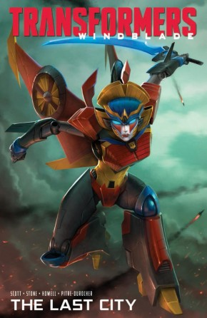 TRANSFORMERS WINDBLADE LAST CITY GRAPHIC NOVEL