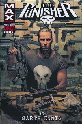 PUNISHER MAX BY GARTH ENNIS OMNIBUS VOLUME 1 HARDCOVER