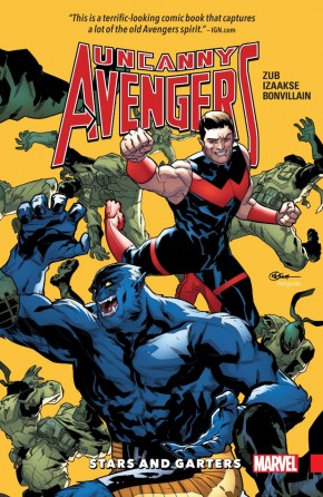 UNCANNY AVENGERS UNITY VOLUME 5 STARS AND GARTERS GRAPHIC NOVEL
