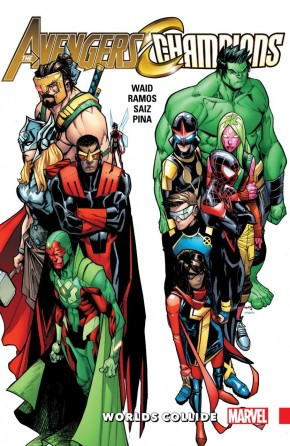 AVENGERS AND CHAMPIONS WORLDS COLLIDE GRAPHIC NOVEL