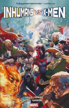 INHUMANS VS X-MEN GRAPHIC NOVEL