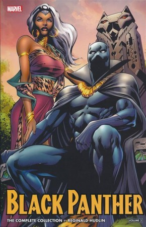 BLACK PANTHER BY HUDLIN VOLUME 3 COMPLETE COLLECTION GRAPHIC NOVEL