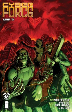 CYBER FORCE #10 (2018 SERIES)
