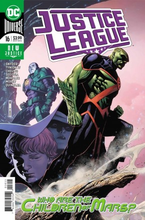 JUSTICE LEAGUE #16 (2018 SERIES)