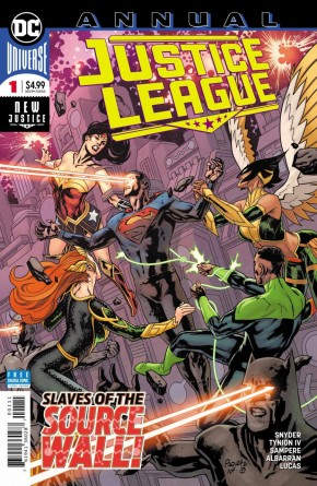 JUSTICE LEAGUE ANNUAL #1 (2018 SERIES)