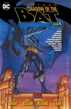 BATMAN SHADOW OF THE BAT VOLUME 4 GRAPHIC NOVEL