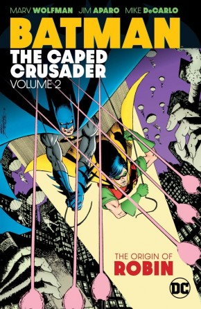 BATMAN THE CAPED CRUSADER VOLUME 2 GRAPHIC NOVEL