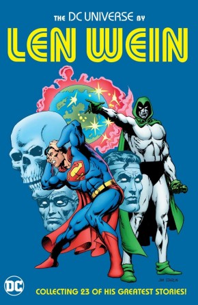 DC UNIVERSE BY LEN WEIN HARDCOVER