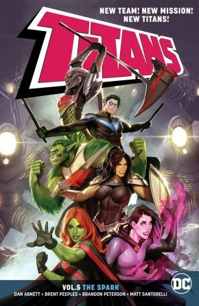 TITANS VOLUME 5 THE SPARK GRAPHIC NOVEL