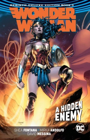 WONDER WOMAN REBIRTH DELUXE COLLECTION BOOK 3 HARDCOVER