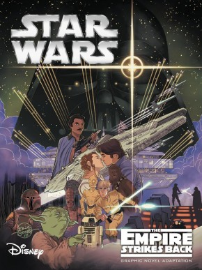 STAR WARS EMPIRE STRIKES BACK GRAPHIC NOVEL (IDW EDITION)