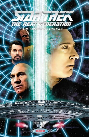 STAR TREK THE NEXT GENERATION THE MISSIONS CONTINUE HARDCOVER