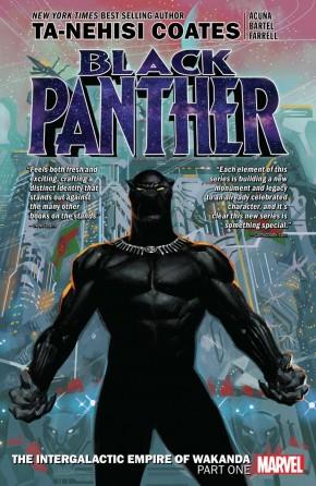 BLACK PANTHER BOOK 6 INTERGALACTIC EMPIRE OF WAKANDA PART 1 GRAPHIC NOVEL