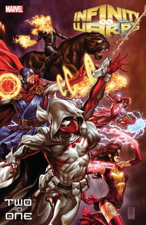 INFINITY WARPS TWO-IN-ONE GRAPHIC NOVEL