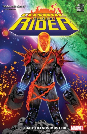COSMIC GHOST RIDER BABY THANOS MUST DIE GRAPHIC NOVEL