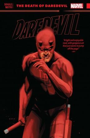 DAREDEVIL BACK IN BLACK VOLUME 8 THE DEATH OF DAREDEVIL GRAPHIC NOVEL