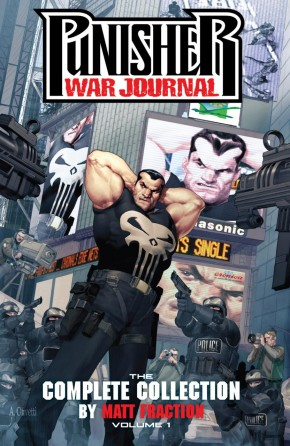 PUNISHER WAR JOURNAL BY MATT FRACTION THE COMPLETE COLLECTION VOLUME 1 GRAPHIC NOVEL