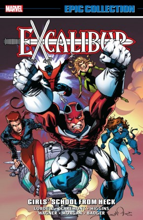 EXCALIBUR EPIC COLLECTION GIRLS SCHOOL FROM HECK GRAPHIC NOVEL