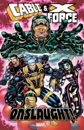 CABLE AND X-FORCE ONSLAUGHT GRAPHIC NOVEL