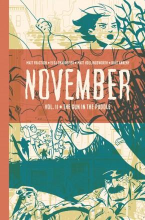 NOVEMBER VOLUME 2 HARDCOVER