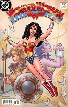 WONDER WOMAN #750 (2016 SERIES) 1980S VARIANT