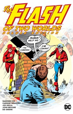 FLASH OF TWO WORLDS DELUXE EDITION HARDCOVER