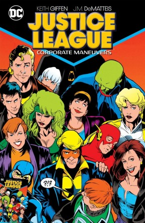 JUSTICE LEAGUE CORPORATE MANEUVERS GRAPHIC NOVEL