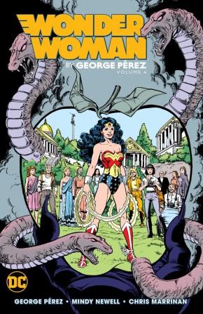 WONDER WOMAN BY GEORGE PEREZ VOLUME 4 GRAPHIC NOVEL