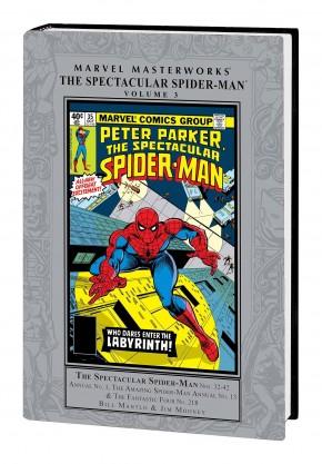 MARVEL MASTERWORKS SPECTACULAR SPIDER-MAN VOLUME 3 HARDCOVER