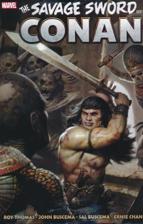 SAVAGE SWORD OF CONAN THE ORIGINAL MARVEL YEARS OMNIBUS VOLUME 3 HARDCOVER