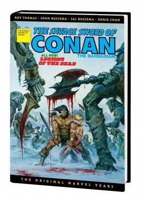 SAVAGE SWORD OF CONAN THE ORIGINAL MARVEL YEARS OMNIBUS VOLUME 3 DM VARIANT HARDCOVER