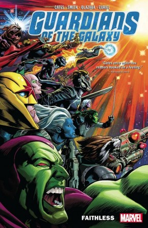 GUARDIANS OF THE GALAXY BY DONNY CATES VOLUME 2 FAITHLESS GRAPHIC NOVEL