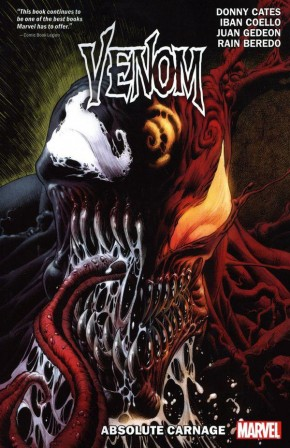 VENOM BY DONNY CATES VOLUME 3 ABSOLUTE CARNAGE GRAPHIC NOVEL