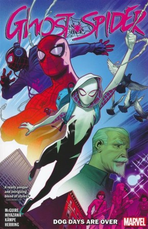 GHOST-SPIDER DOG DAYS ARE OVER GRAPHIC NOVEL
