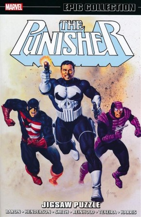 PUNISHER EPIC COLLECTION JIGSAW PUZZLE GRAPHIC NOVEL