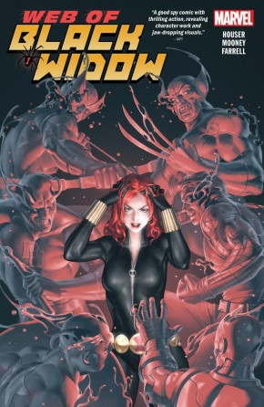 WEB OF BLACK WIDOW GRAPHIC NOVEL