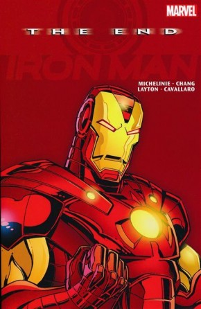 IRON MAN THE END GRAPHIC NOVEL