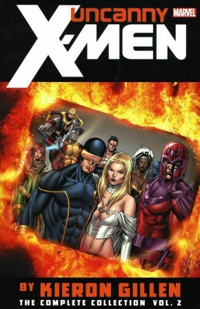 UNCANNY X-MEN BY GILLEN THE COMPLETE COLLECTION VOLUME 2 GRAPHIC NOVEL
