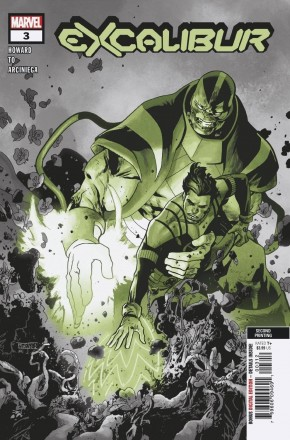 EXCALIBUR #3 (2019 SERIES) 2ND PRINTING