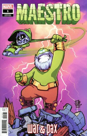 MAESTRO WAR AND PAX #1 SKOTTIE YOUNG BABY VARIANT COVER